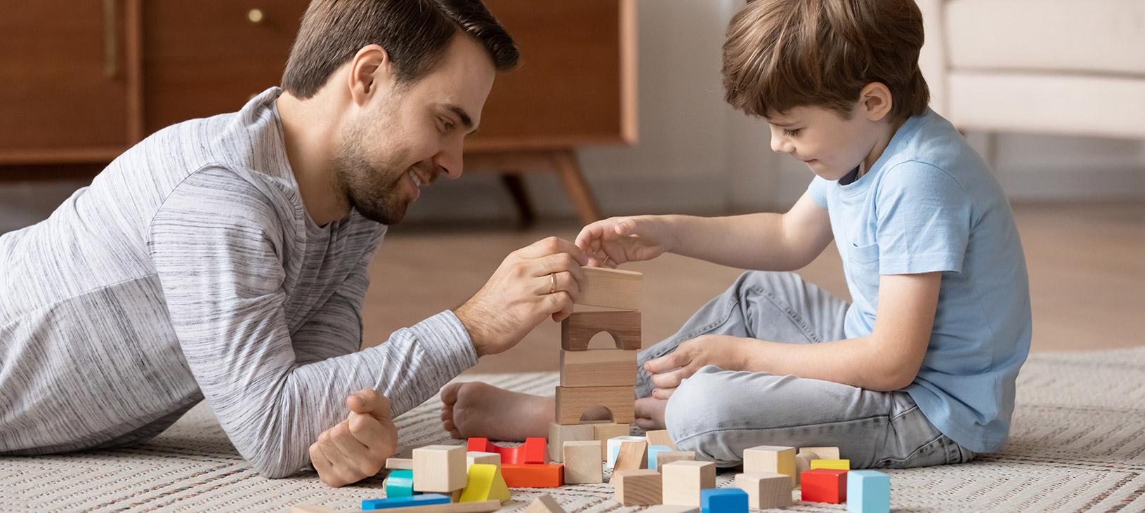 זמן רצפה - משחק התפתחותי עם ילדים